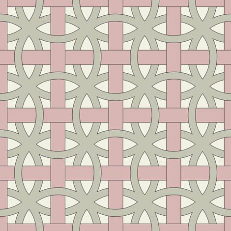 pink ribbons weave fabric by ravynka on Spoonflower - custom fabric
