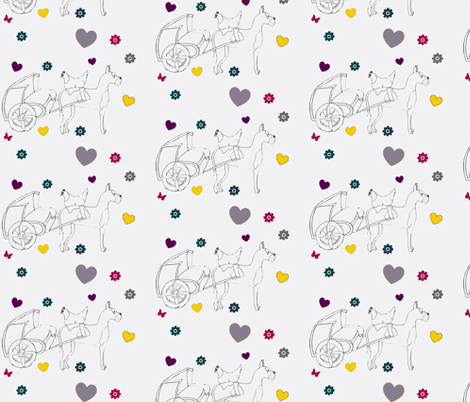 dog_and_chicken-ch-ch-ch fabric by brass_balla on Spoonflower - custom fabric