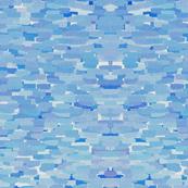 Blue Cork Shingles