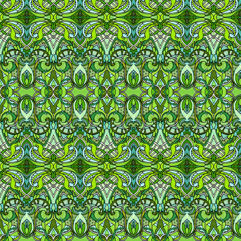 The Weeding Party fabric by edsel2084 on Spoonflower - custom fabric