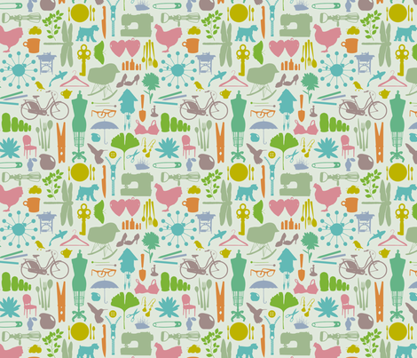 Sadie Fox Studio fabric by sadie_fox_studio_fabric on Spoonflower - custom fabric