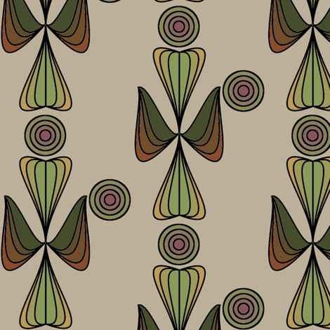 Earth Wand fabric by david_kent_collections on Spoonflower - custom fabric
