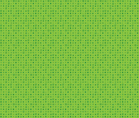 GREEN DOTS fabric by gsonge on Spoonflower - custom fabric