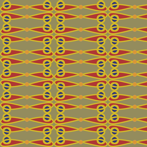 Red Wing fabric by david_kent_collections on Spoonflower - custom fabric