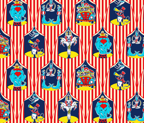Big Toppers fabric by ceanirminger on Spoonflower - custom fabric