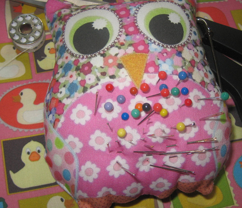Appliqué Patch Owl Plushies