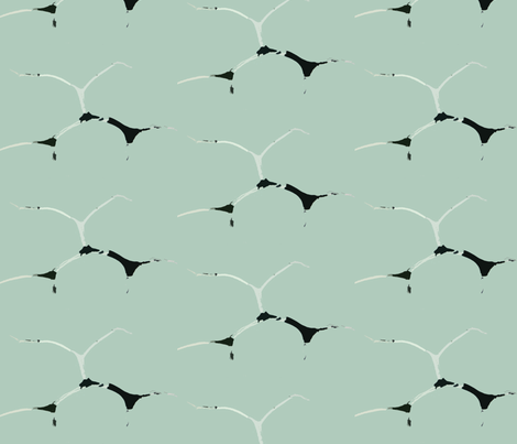 Wind Song fabric by susaninparis on Spoonflower - custom fabric
