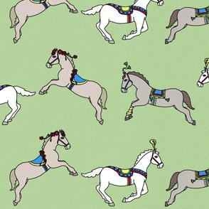 Circus ponies