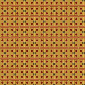 Teak Puzzle (Saffron)