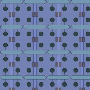 Teak Puzzle (Blue)