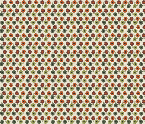 Autumn Floral fabric by abbyg on Spoonflower - custom fabric