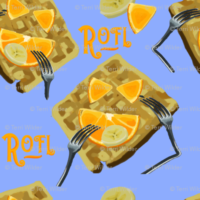 ROFL Waffles BLUE
