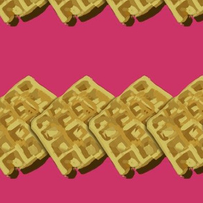 ROFL Waffle Trim Pink