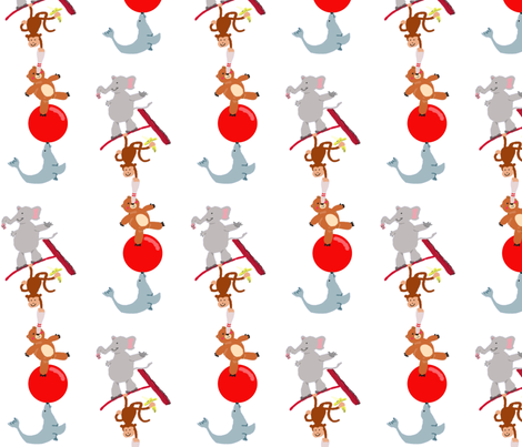 Circus_stack fabric by sustainablebaby on Spoonflower - custom fabric