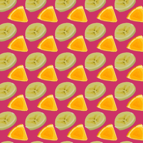 Fruit ROFL Pink fabric by terridee on Spoonflower - custom fabric