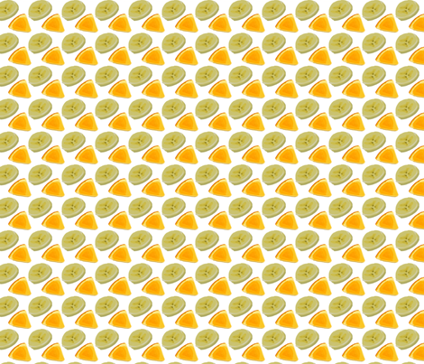 Fruit ROFL White fabric by terridee on Spoonflower - custom fabric