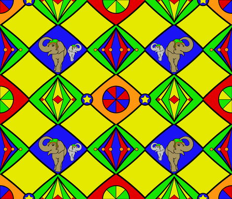 Circus_color fabric by adranre on Spoonflower - custom fabric