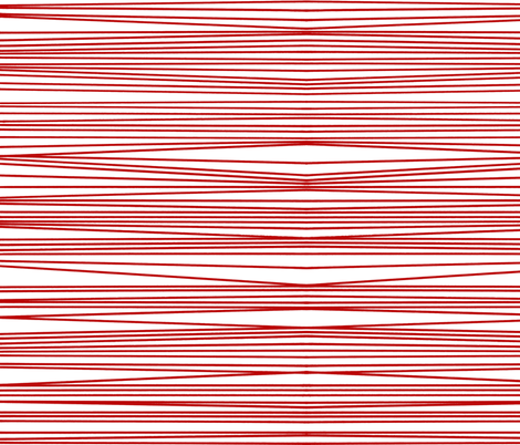 red optical illusion fabric by littlemissquarter on Spoonflower - custom fabric