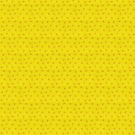 Chrome_Yellow Calico fabric by the_cornish_crone on Spoonflower - custom fabric