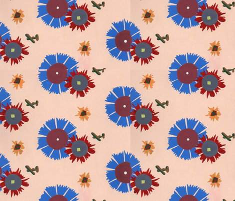 planes fabric by sonyab on Spoonflower - custom fabric