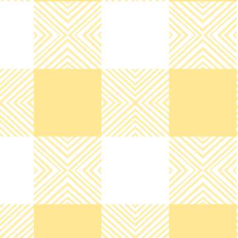 Yellow X Plaid fabric by pond_ripple on Spoonflower - custom fabric