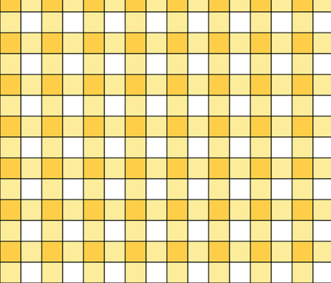 Sunny Plaid i fabric by pond_ripple on Spoonflower - custom fabric