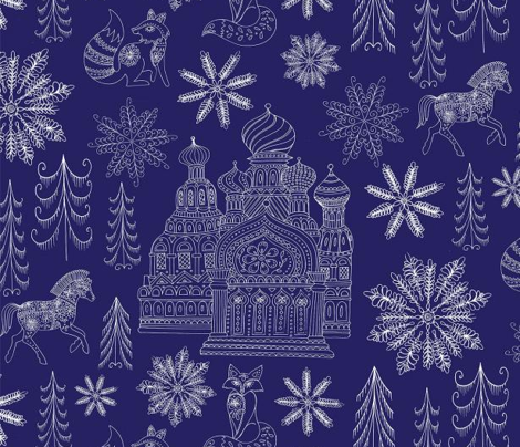 Winter Toile with Dr.Zhivago