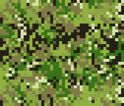 Universal Digital Camo fabric by ricraynor on Spoonflower - custom fabric