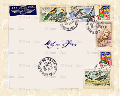French Postage basic repeat