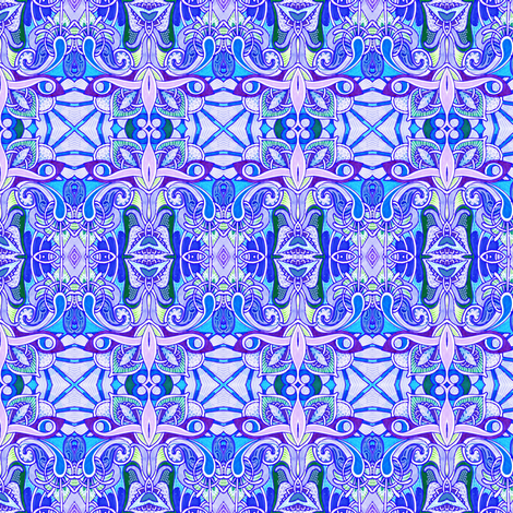 The Iris Fairy Grants You 3 Wishes fabric by edsel2084 on Spoonflower - custom fabric