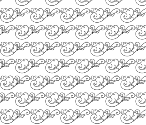 Iron Curls fabric by mbsmith on Spoonflower - custom fabric