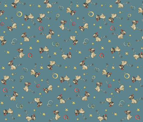 Lioning fabric by catru on Spoonflower - custom fabric