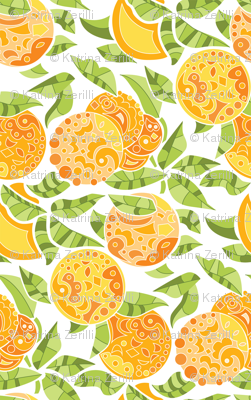 Doodly Oranges!