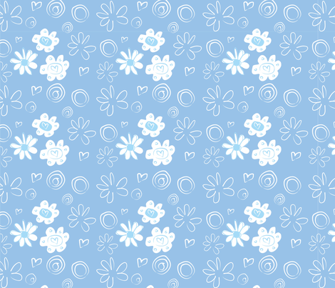 Fauna Floral fabric by rui_rui on Spoonflower - custom fabric