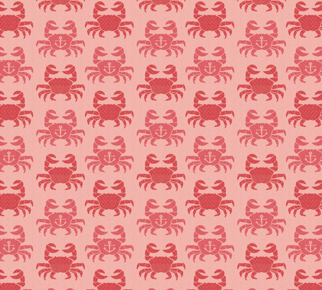 Feeling crabby fabric by annaboo on Spoonflower - custom fabric