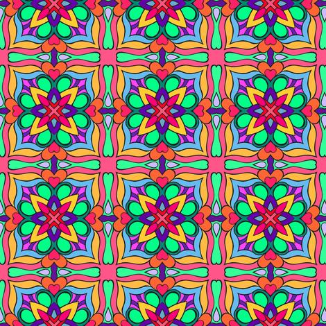 Somnium part one  fabric by samvanvoorst on Spoonflower - custom fabric