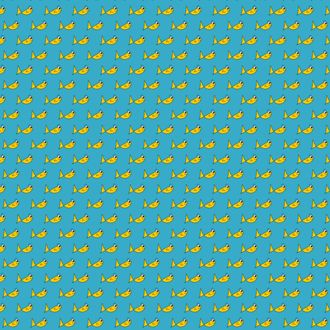 City Fishy fabric by missyq on Spoonflower - custom fabric