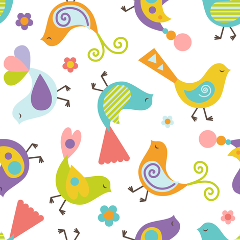 Tweety fabric by martinaness on Spoonflower - custom fabric