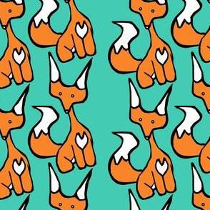 Teal Foxy