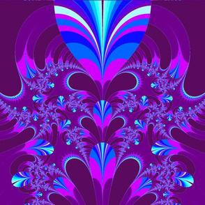 purple lavendar fractal