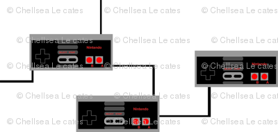 NES Game Console Controllers