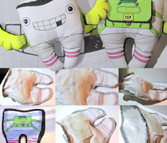 Toothy the Tooth Fairy Plushie: Four Up