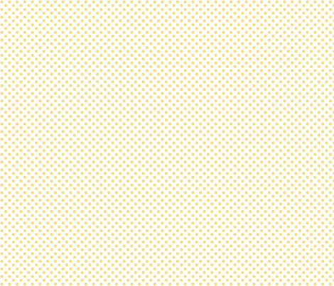 yellow_polka fabric by cherryandcinnamon on Spoonflower - custom fabric