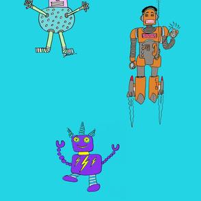 Caleb's Triple Robots