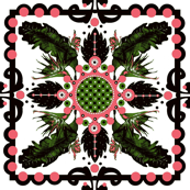 A hawaiian queen's quilt