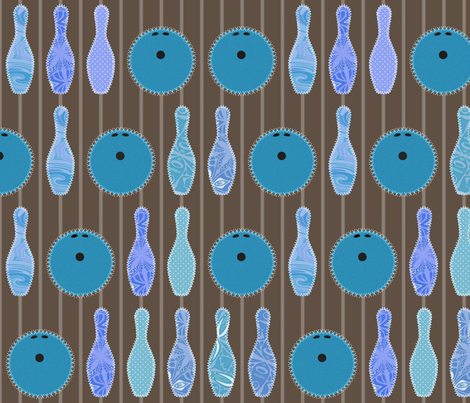 needlework and blue-blue pins fabric by scrummy on Spoonflower - custom fabric