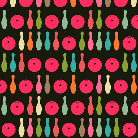 mini sherbet bowling fabric by scrummy on Spoonflower - custom fabric