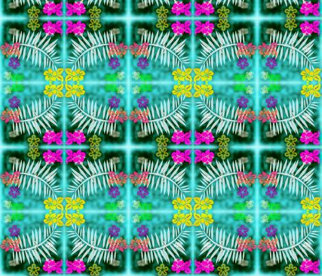 Summer island fabric by ambies on Spoonflower - custom fabric