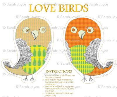 love birds toy