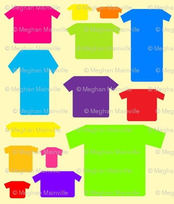 t-shirts( yellow)